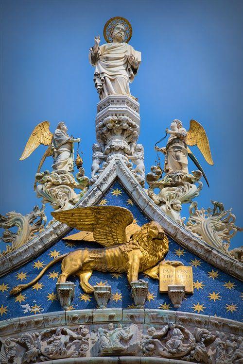 Saint Mark's Basilica, Venice Italy. -- new theme. Architectural Beauty around the World