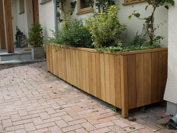 The 25+ Best Large Wooden Planters Ideas On Pinterest | Large Diy Planters, Large  Garden Storage Box And Large Planter Boxes