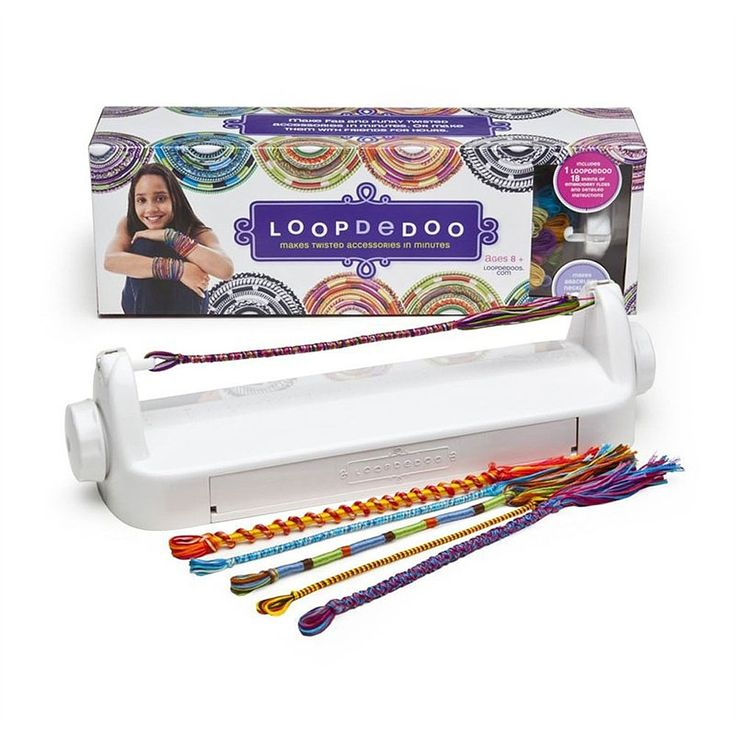 Loopdedoo is a completely unique way of crafting accessories with thread. Making beautiful accessories takes only a few minutes thanks to the patented Loopdedoo spinning loom. You can make friendship bracelets, necklaces, headbands, anklets and more. Comes with 18 skeins of natural cotton thread for an eco-friendly, biodegradable craft that is easy to make, soft to wear next to skin, and returns to the environment when the wearer is done with it! Age 8+, but easily lends itself to…