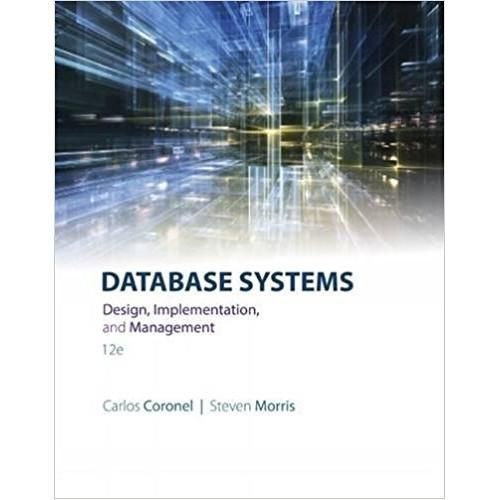 database systems design implementation & management 13th edition pdf