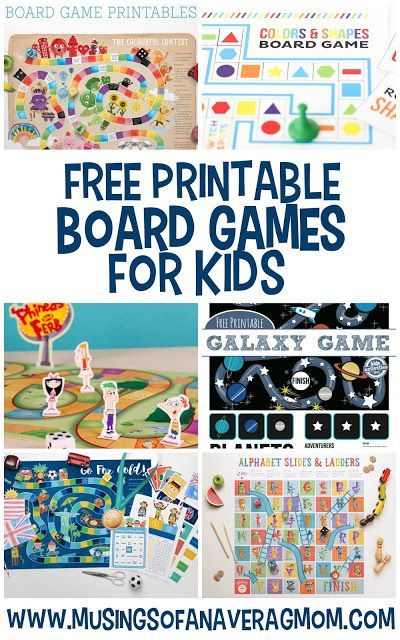 Check out these 13 free printable board games for kids. Great for a rainy day or to beat summer boredom!