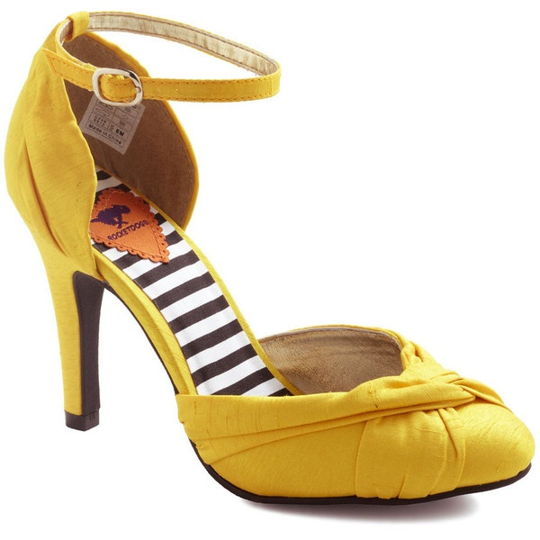 Canary Cruise Heel ($60) found on Polyvore FABULOUS