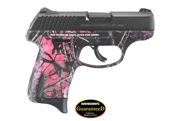 Ruger LC9S in Muddy Girl Camo - Striker Fired - 9mm