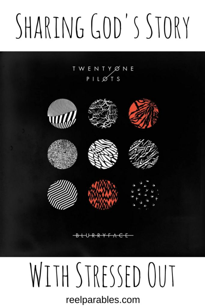 "Yes, you can share God's story with Twenty One Pilot's new song, Stressed Out! It's a great ""Sermon"" on Ecclesiastes 1:9. Check it out! #twentyonepilots #stressedout"