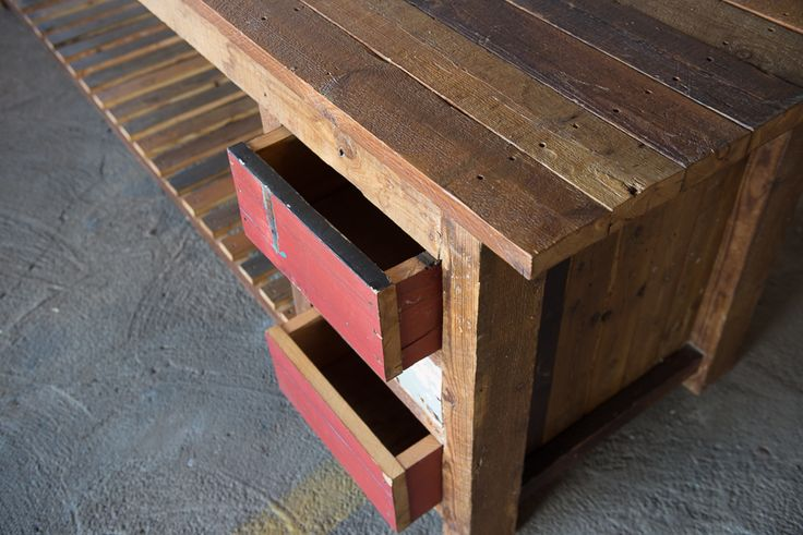 #NorthcliffAntiques This rustic counter/ server has been handmade from reclaimed wood. Order yours to your size specifications and preferred colour palette from Adelle at adelle.northcliff... #Johannesburg #AntiqueShops #Reclaimed #Kitchen #Freestanding #Furniture