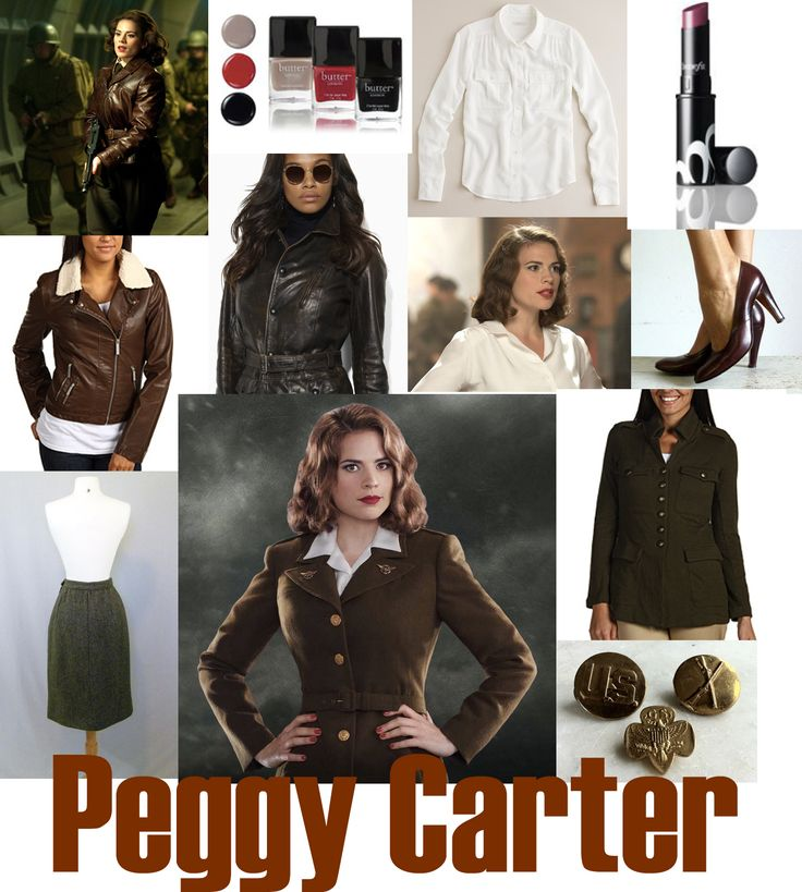 How to Dress Like a (Female) Superhero: Peggy Carter from Captain America. Check out Ms.Comx' hit comic-inspired fashion style guides: http://mscomix.com/