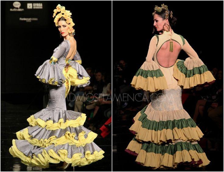 MADAME BUTTERFLY – Antonio Gutierrez | Moda Flamenca por Elena Rivera vía Mamá de Mayor Quiero Ser Flamenca.