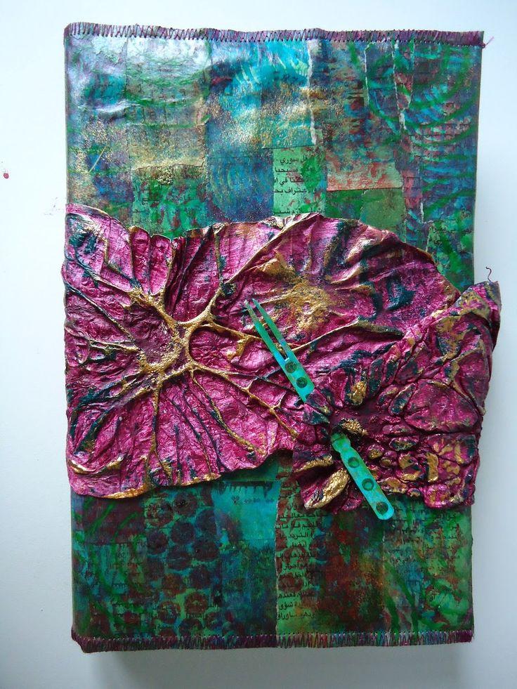 Joke Hardenbol - Paper Fabric Book Cover