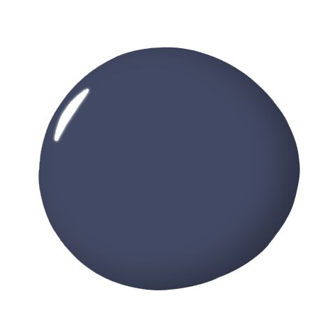 """Stunning, Benjamin Moore-  """"The name says it all. It's stunning. It's deep, bold and oh-so-cozy. I have used it on everything from walls in a traditional dining room to cabinetry in a modern kids' bathroom. It mixes well with crisp white, soft gray, silver, gold and even black. Using a deep blue as a base can give a space major visual impact."""""""
