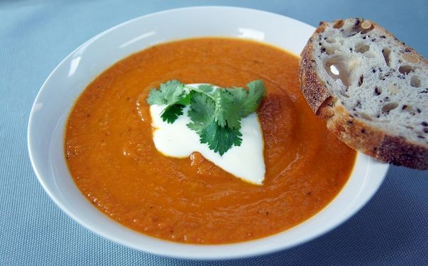 Cumin Spiced Lentil And Carrot Soup