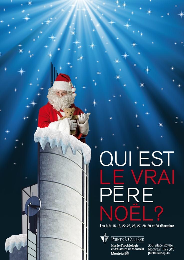 Qui est le vrai père Noël ? Graphisme : Dominique Boudrias.|