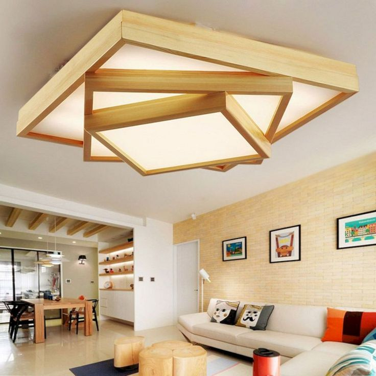 12+ Elegant Wooden Ceiling Lighting Ideas For Amazing Home ...