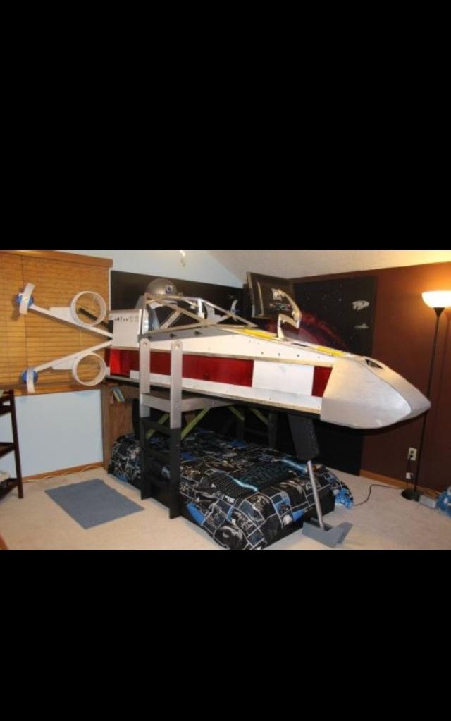 Star Wars bed! | House | Nursery Decor | Pinterest | Star