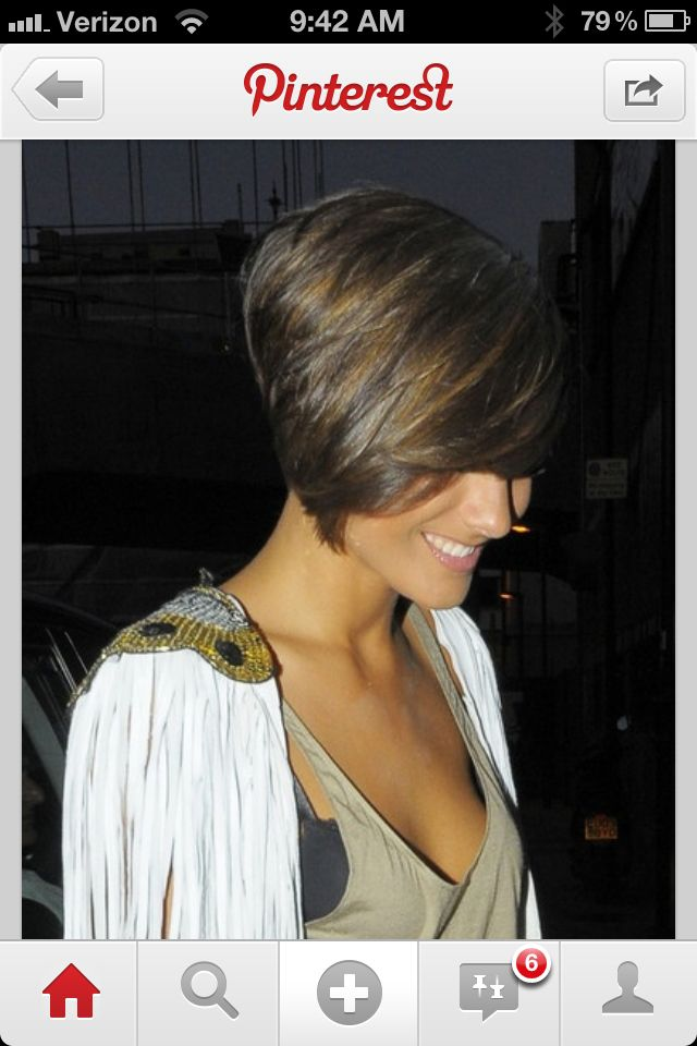 96 best short hair images on pinterest short hairstyle gorgeous long in the front short in the back reverse mullet winobraniefo Image collections