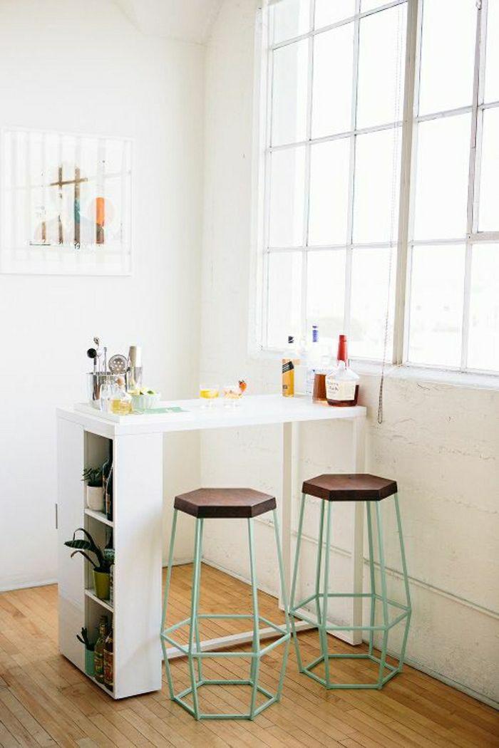 comment adopter le tabouret de bar dans l 39 int rieur. Black Bedroom Furniture Sets. Home Design Ideas