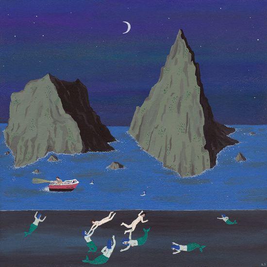 Evil Mermaids by Angela Dalinger