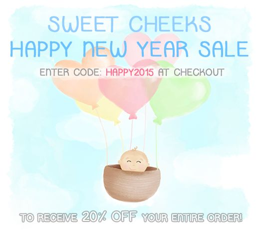 Happy New Year!!!  to celebrate, receive 20% OFF your entire order for the month of January! Sweet Cheeks Images on Etsy