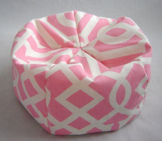 Toy Doll Bean Bag Chair For 18 Inch American In Pink And