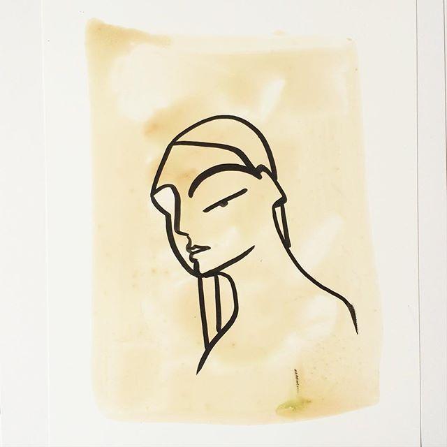 Angela Reimer (@angeladreimer) • #minimal #art #portrait