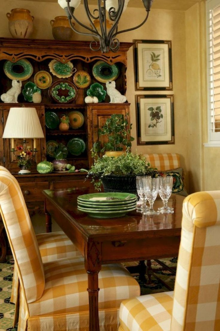 50 Incredible Fancy French Country Dining Room Design Ideas ...
