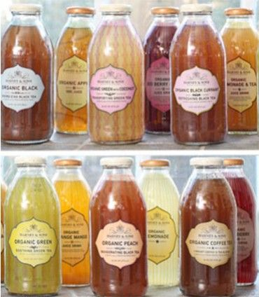 Mixed Case Bottled Iced Tea & Juices / 12 - 16 oz bottles
