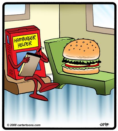 The Character Therapist: Weekend Funnies: Even Hamburgers ...