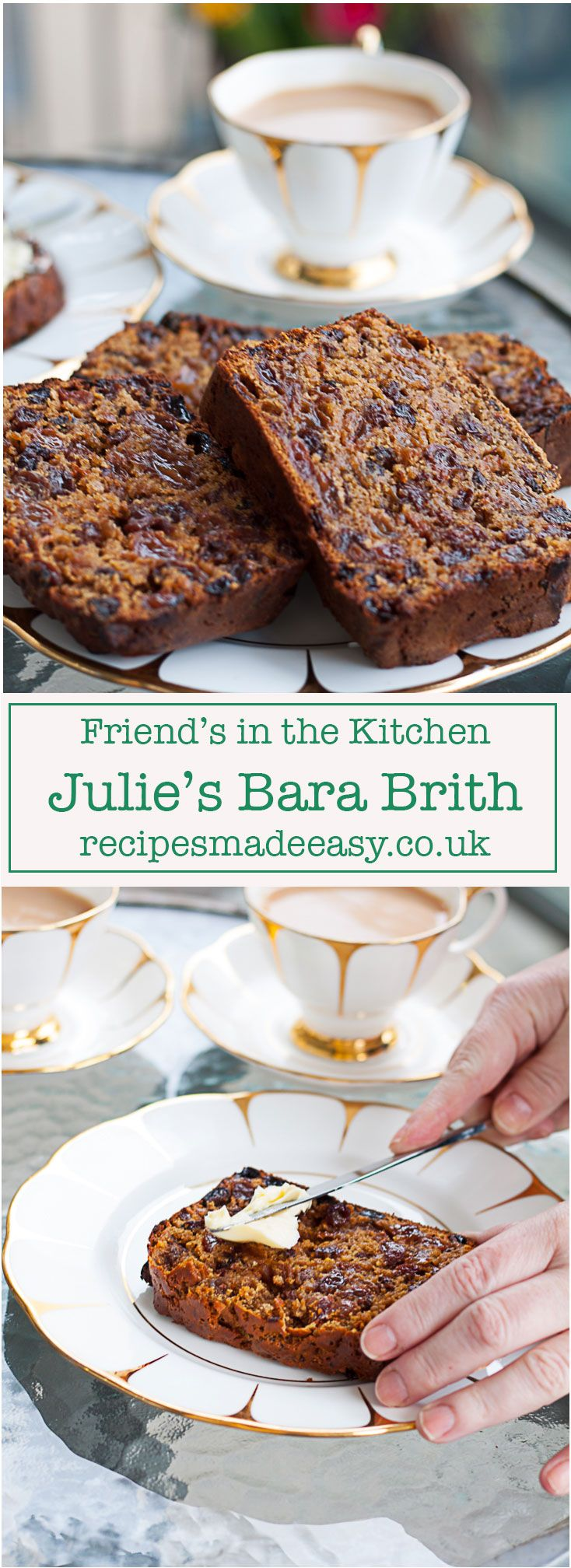 My Welsh friend Julie shows Recipes Made Easy how simple it is to make a traditional Welsh Bara Brith via @jacdotbee