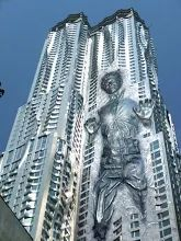 Фото: Фрэнк Гери Карбонит Башня  #Архитектура #Architecture #здания #buildings #башни #towers #Проект #Проектирование #Строительство #Дизайн #Design #Металлоконструкции #Steel #Structures