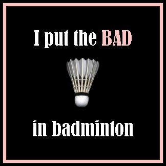 "Okay...am I the only one who actually chuckled about this Olympic story. I know it was bad sportsmanship, but really? The fact that badminton is an Olympic sport makes me giggle anyway. This was like The Housewives of Orange County or something in the ""badminton world""...which makes me giggle that there is such a thing. I know. I'm bad. The player who was ""saying goodbye"" to the badminton world forever...um, grab a racquet and try tennis or racquetball."