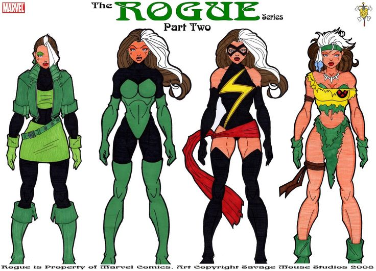 Rogue Series: Part Two by SavageMouse@deviantART