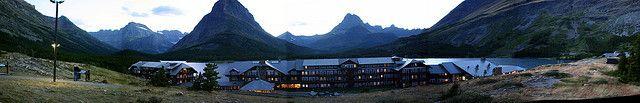many glacier hotel | Many Glacier Hotel | Flickr - Photo Sharing!