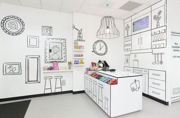 A smart Candy Shop: Melbourne Australia, Candy Shops, Candy Rooms, Comic Books, Candy Stores, Interiors Design, Stores Interiors, Sweet Shops, Design Group
