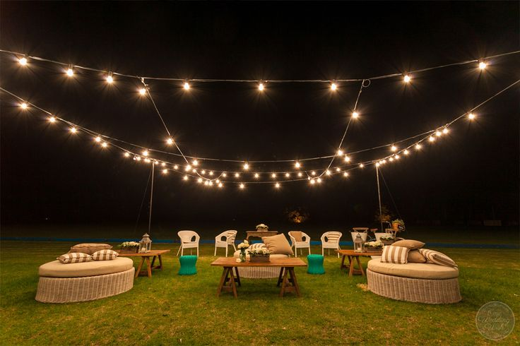 Wimsicle outdoor area | Werribee Mansion | Concepts & Styling by One Wedding Wish