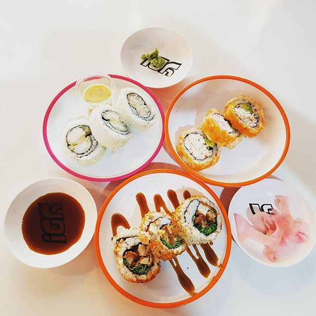 Yo Sushi!!!! Come and Enjoy the color game You pay by choosing your favorite Color Plates!!!! @yosushi_me #zomato #zomatouae #dubai #dubaipage #mydubai #uae #inuae #dubaifoodblogger #uaefoodblogger #foodbloggeruae #foodreview #foodblog #foodpic #foodphotography #foodgasm #foodstagram #instagram #instafood #verifiedreviewer #verifiedfoodie #theshazworld #yosushi #sushi #marinamalldubai #marinamall