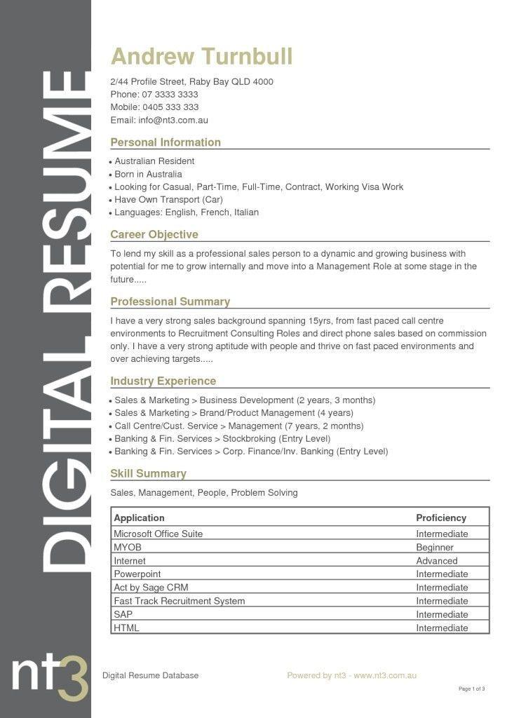 Resume Templates Qld Resume Template Australia Resume Template Word Free Professional Resume Template