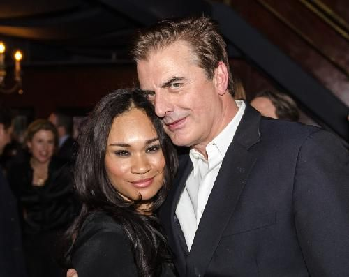 Chris Noth Says His Interracial Marriage Was The Victim of Hate Mail