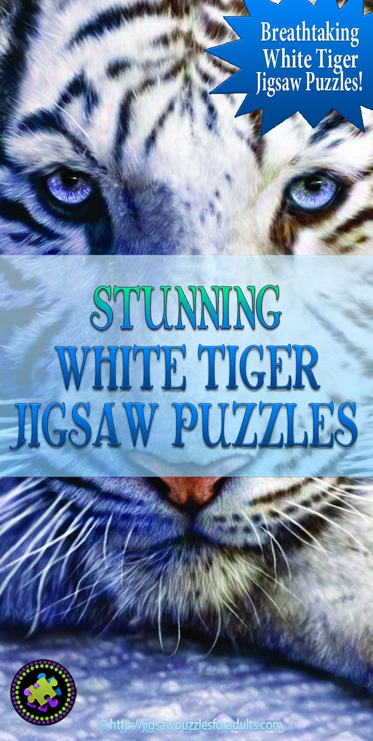 White Tiger Jigsaw Puzzles