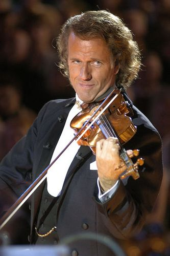 Andre Rieu - this man is beautiful, because he makes beautiful music. <3
