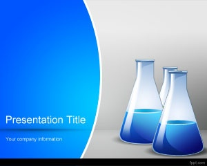 Chemical PowerPoint template background