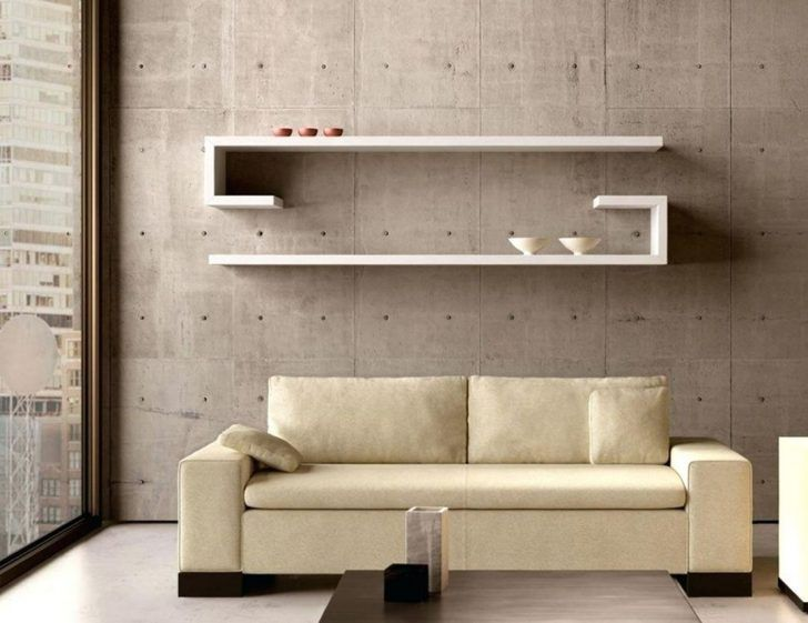 Contemporary Living Room Shelves Design Decor It S Idees Etageres Etageres Murales Mobilier De Salon #shelves #design #in #living #room