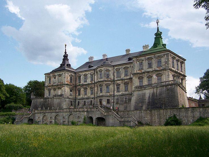 (Koniecpolski) Wzniósł także pałac w Podhorcach, także z fortyfikacjami i dodatkowo otoczony ogrodami włoskimi, ...
