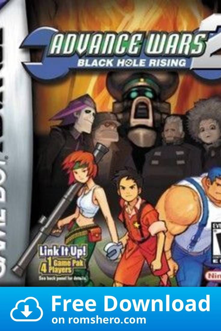 Download Advanced Wars 2 Black Hole Rising Gba Gameboy Advance Gba Rom Gba Gameboy Advance Gameboy