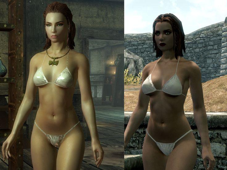 DIMONIZED UNP female body at Skyrim Nexus - mods and community