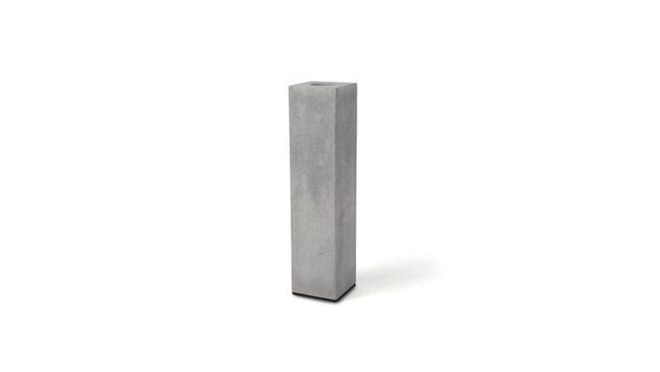 """Vasen - Vase """"BLOCK"""" aus Beton - ein Designerstück von korn-produkte bei DaWanda"""
