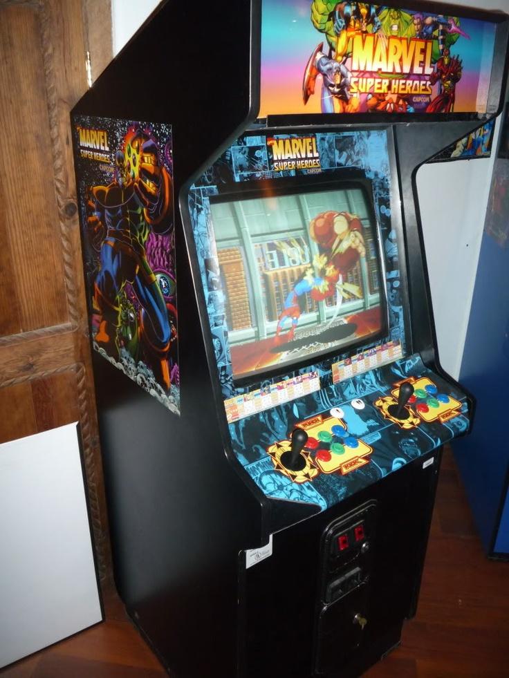 Marvel Superheroes arcade The Arcade is on Fire