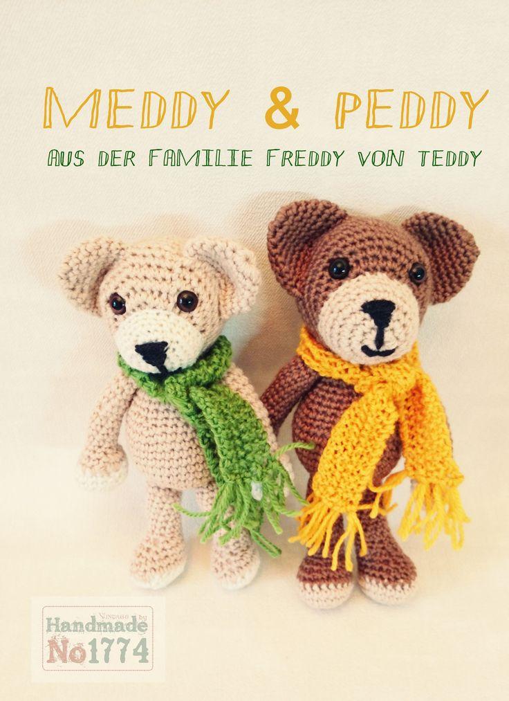 Geschwister - Teddy - Kuscheltier - Gehäkelt - Bär - crochet - crochet stuffed animal - Winter - Schal - Kind - Baby