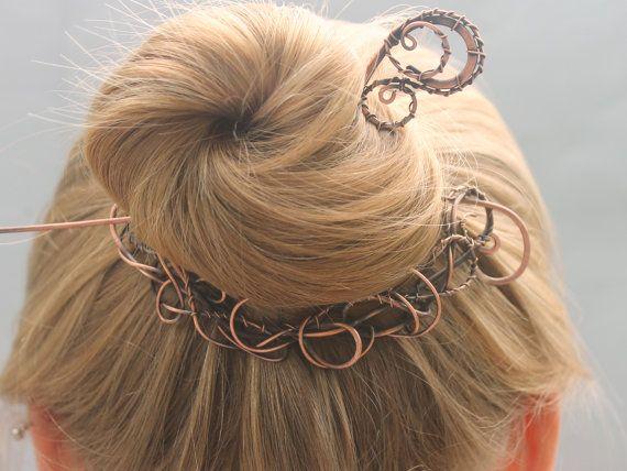 30 best Hair clip images on Pinterest | Hair clips, Copper hair ...