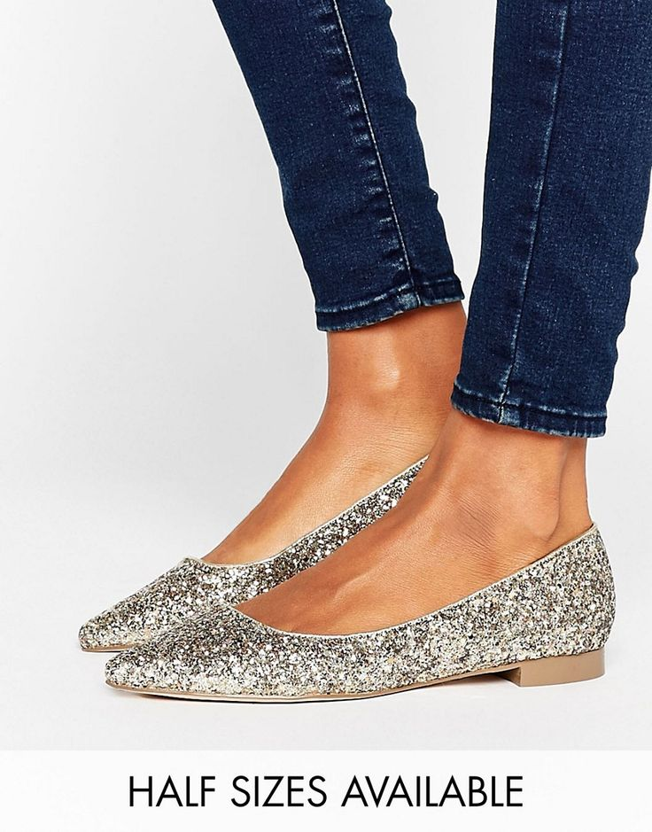 ASOS LOST Pointed Ballet Flats - Multi