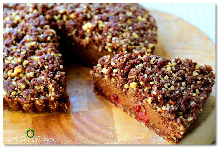 Czekoladowo wiśniowe ciasto bez pieczenia