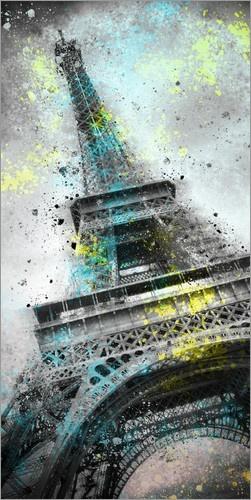 Paris, die Stadt der Liebe, der Mode und das Zuhause des Eiffelturms. Nicht nur Touristen, auch Künstler verlieben sich immer wieder hoffnungslos in Frankreichs Hauptstadt. Posterlounge präsentiert dir spektakuläre Motive aus einer facettenreichen Stadt fürs eigene Heim.